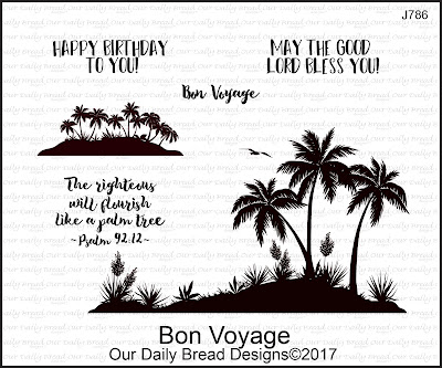 Our Daily Bread Designs Stamp Set: Bon Voyage