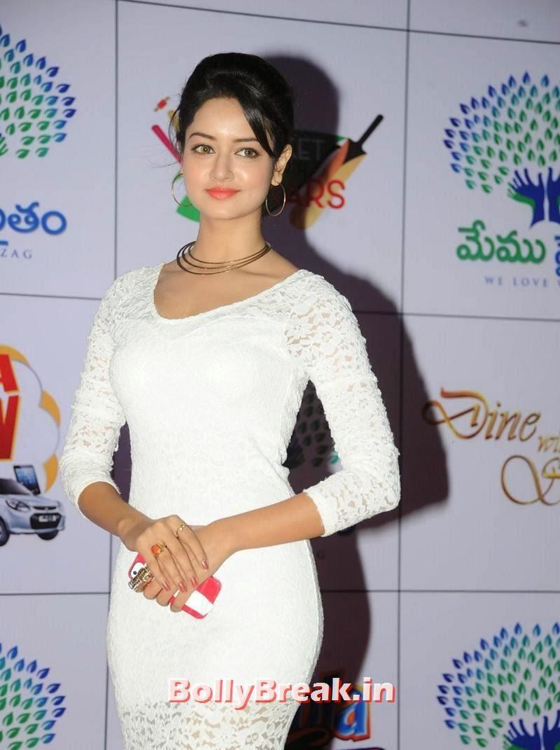 Shanvi Latest Photo Gallery, Actress Shanvi Hot Sexy Pics in White Dress