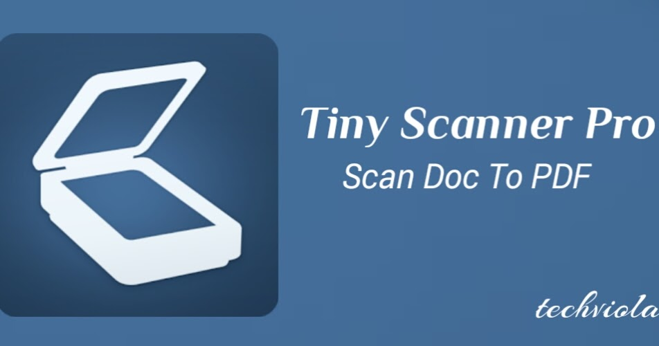 Tinyscan Pro Pdf Scanner