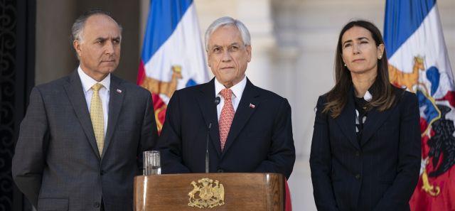 Presidente Piñera anuncia cancelación de la COP25