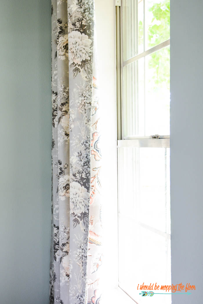 How to Sew Reversible Curtains