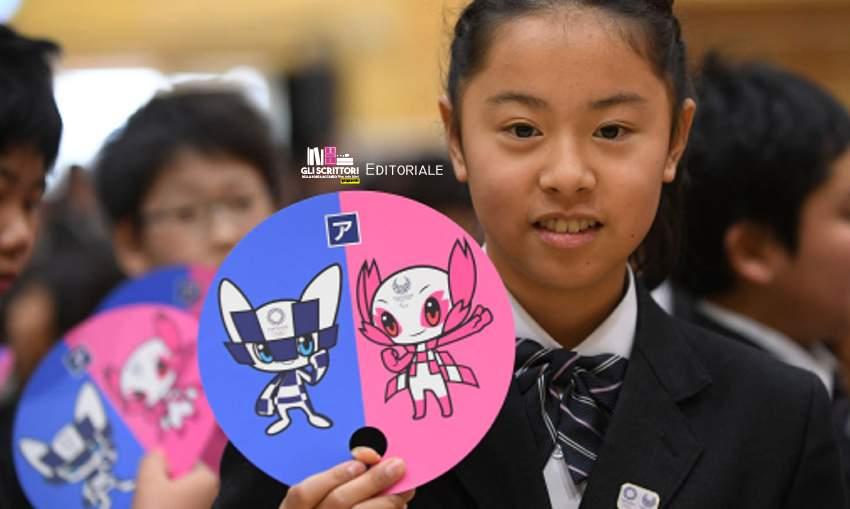 Le mascotte giapponesi: dal sesso sicuro a Tokyo 2020