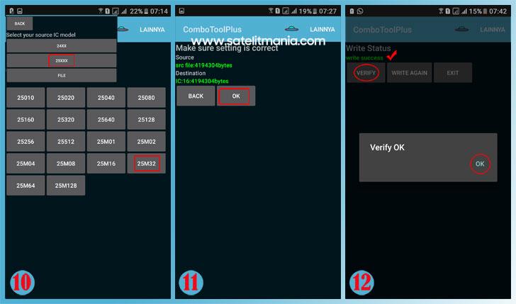 Cara Flashing IC Eeprom SPI via Android dengan Mudah