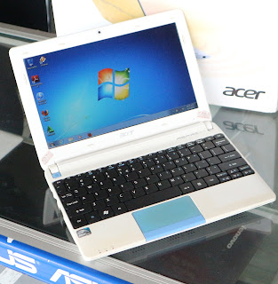 Notebook Acer aspire One Happy Second di Malang