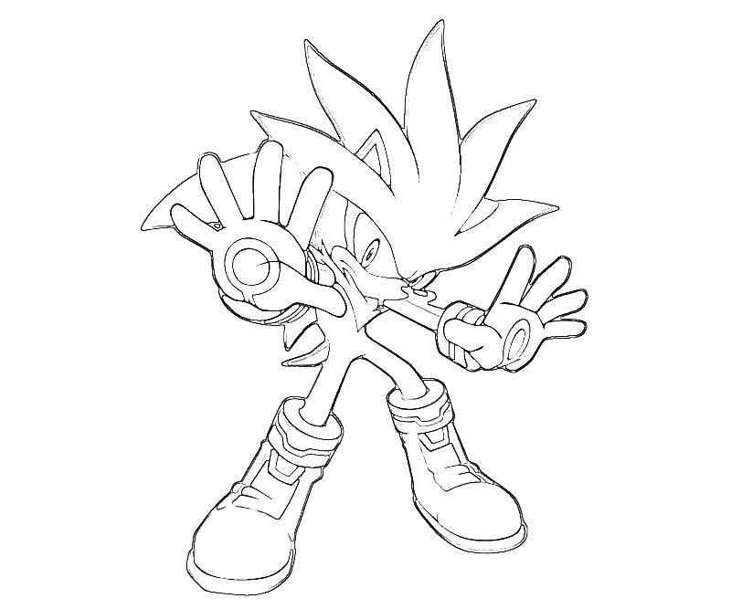 sonic generations silver the hedgehog aura  surfing