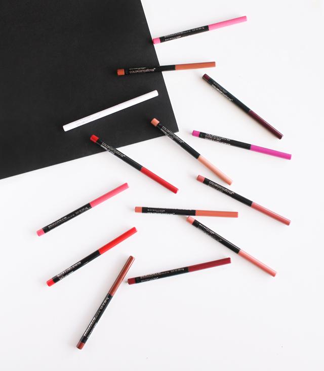 Maybelline Color Sensational Shaping Lip Liner Review,  Maybelline Color Sensational,  Maybelline Color Sensational Lip Liner Swatches, Maybelline Color Sensational Lip Color