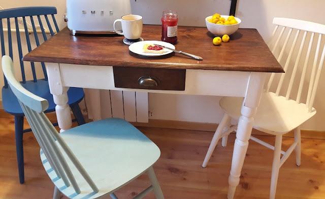 Zmieniłam stół kuchenny