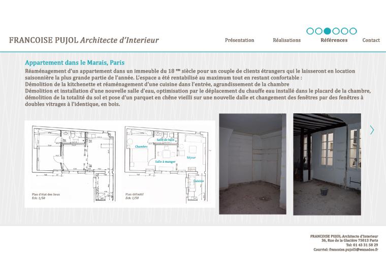 francoise pujol architecte d int rieur. Black Bedroom Furniture Sets. Home Design Ideas
