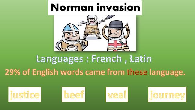 معلومات عن اللغة الإنجليزية,تطورها في عصر النورمان