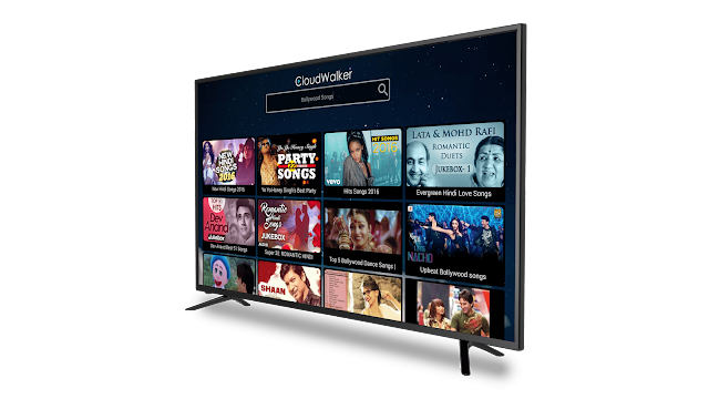 Cloud TV_App Screen