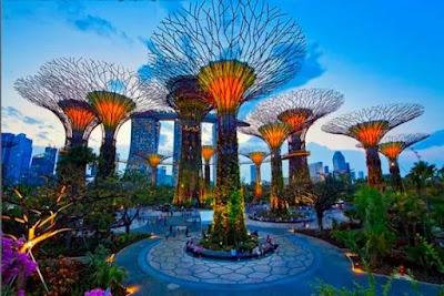 Garden By The Bay Singapura