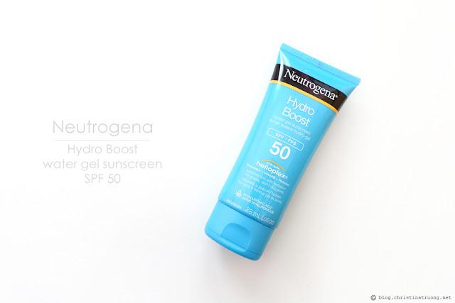 Neutrogena Hydro Boost Water Gel Sunscreen SPF 50 Review