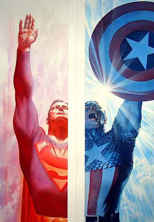 superman+capitan+america+Ross