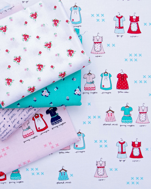 A Little Sweetness by Tasha Noel for Riley Blake Fabrics | © Red Pepper Quilts 2017