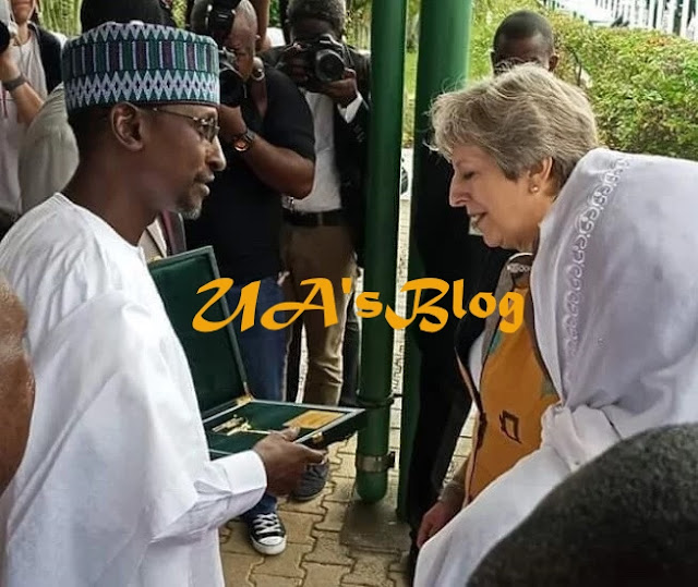 Buhari's speech as Nigeria, Britain sign agreements on security, economic development