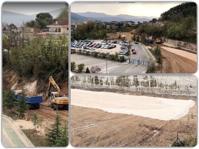 Γιάννενα: Ξεκίνησαν οι εργασίες,για την δημιουργία νέου πάρκινγκ στο Νοσοκομείο Χατζηκώστα