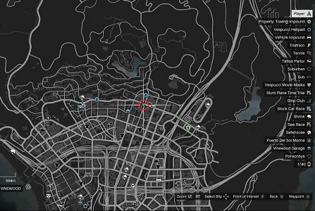 GTA 5, Human Locations, Zombie