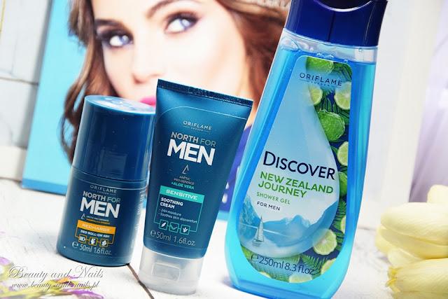 NORTH FOR MEN kosmetyki dla mężczyzny - Oriflame.