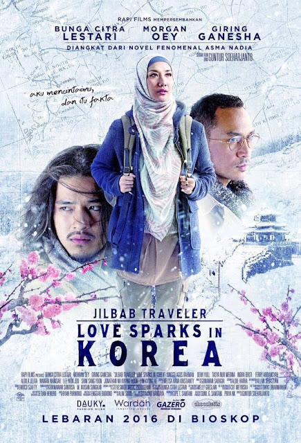 Jilbab Traveler Love Sparks In Korea (2016) WEB-DL