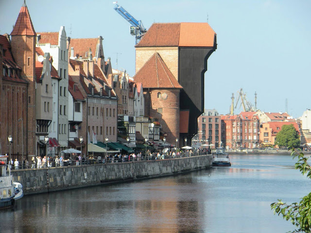 Things to do in Gdansk Poland: Check out the Medieval crane on the Motława River