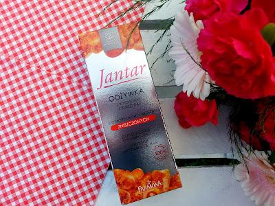 Złoto włosomaniaczek: JANTAR odżywka i ampułki + KONKURS