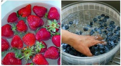 cara menyimpan buah stroberi