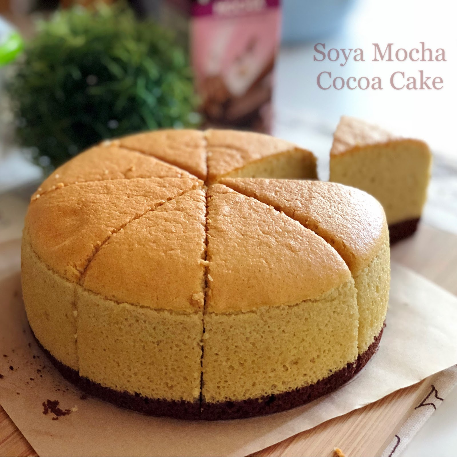 Cakes Using Only Soy Flour