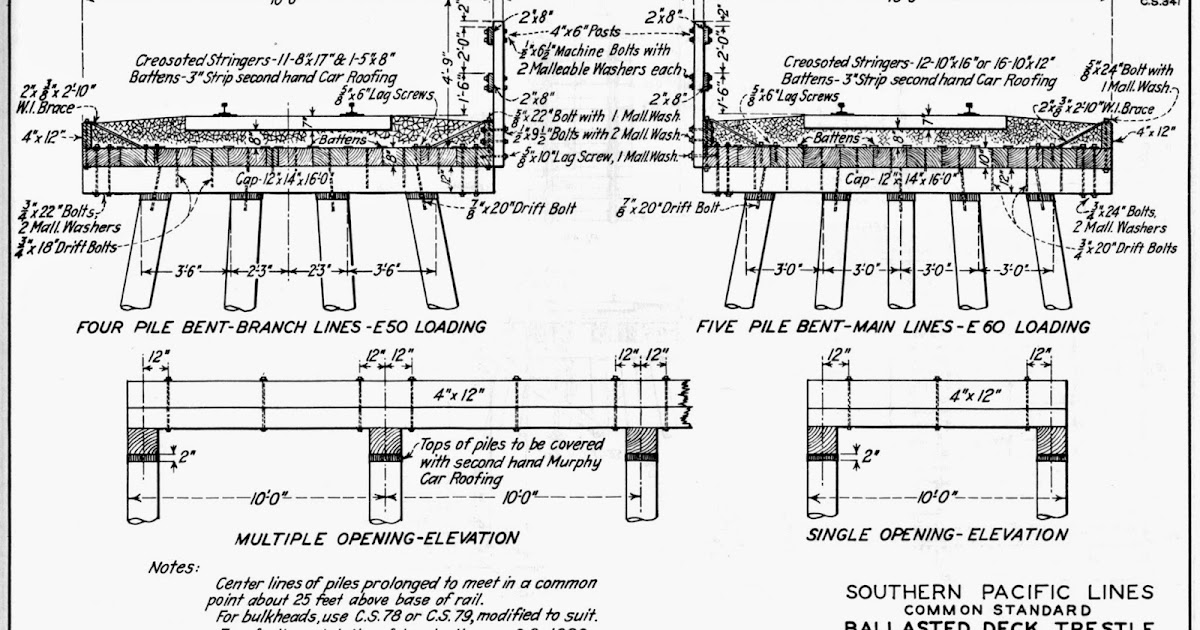 modeling the SP: Building an SP pile trestle