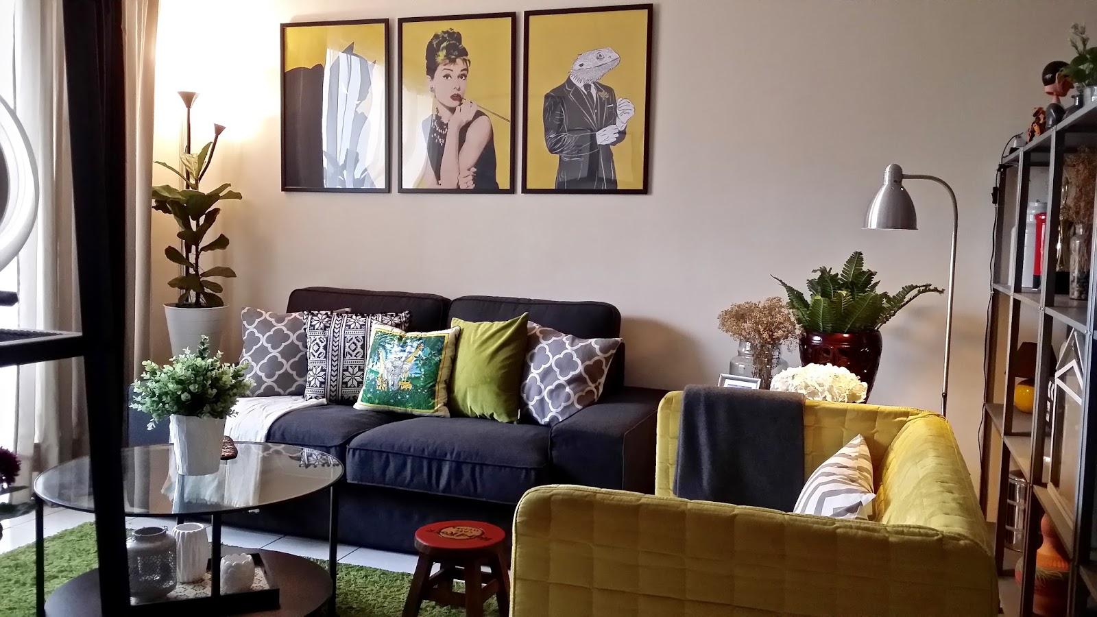 Pop Art Meets Design Living Room