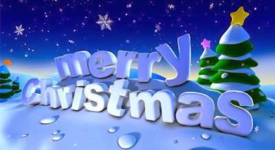 Kartu Ucapan Merry Christmas 2017