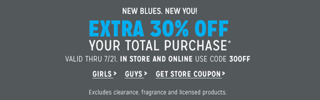 graphic about Aeropostale Application Printable referred to as Aeropostale - 30% Off Your General Acquire w/ On-line Promo