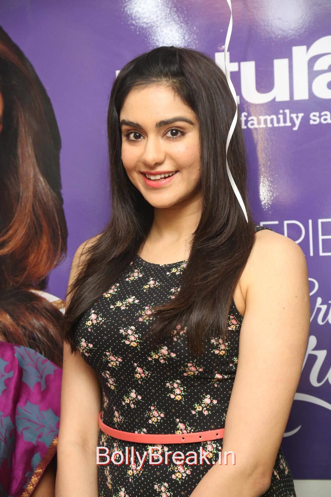 Adah Sharma Pics, Adah Sharma Hot Pics in Black Skirt Dress