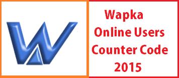 Wapka Online Users Details Code 2015 - Wapka Latest HTML Codes
