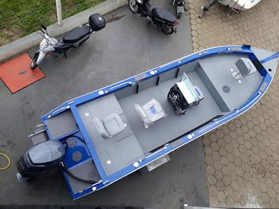 Nova Marajó Machine Fisharound na Valenáutico agende seu teste Drive