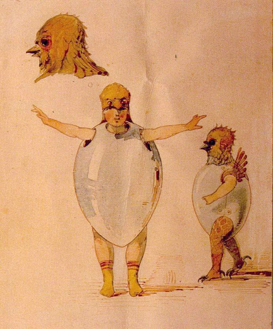 Viktor Hartmann - Decorado del ballet Trilbi - 1871