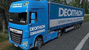 Decathlon DAF Euro 6 mod pack