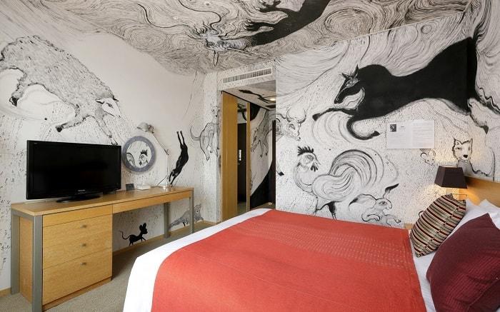 No. 6 Park Hotel Tokyo Artist Room 'Zodiac' designed by Ryosuke Yasumoto