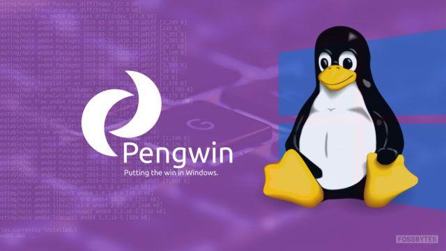 Pengwin é um distro especialmente criado para o subsistema do Windows para Linux