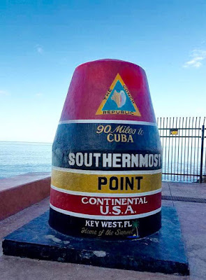 The Southernmost Point Buoy