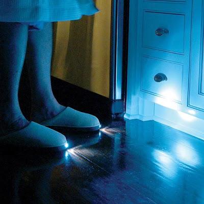 Chanclas con luz integrada
