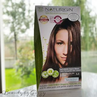 NATURIGIN ORGANIC HAIR DYE