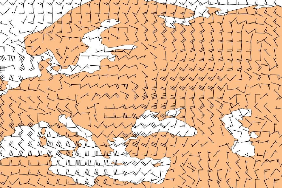 GeoExamples: Drawing wind barbs: GDAL python