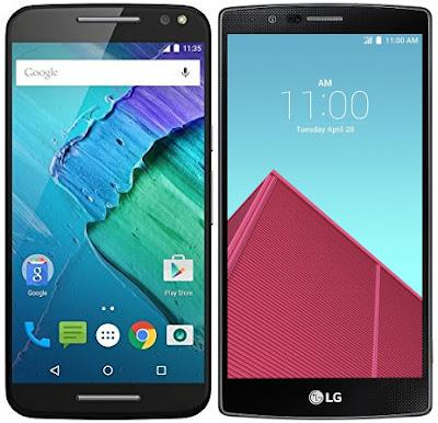 Motorola Moto X Style vs LG G4 H815