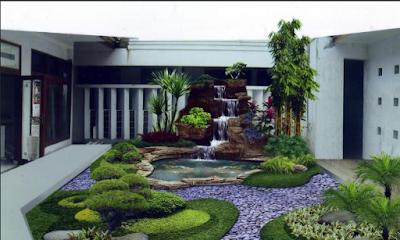 Model Taman Kecil Untuk Rumah Minimalis