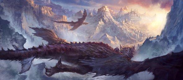 Steve ChinHsuan Wang (Swang) artstation deviantart arte ilustrações ficção científica fantasia games dragões naves espaciais futuristas
