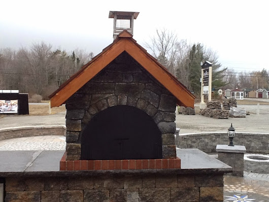 The Gagne & Son Wood Fired Brick Pizza Oven in Maine (Holden Location)
