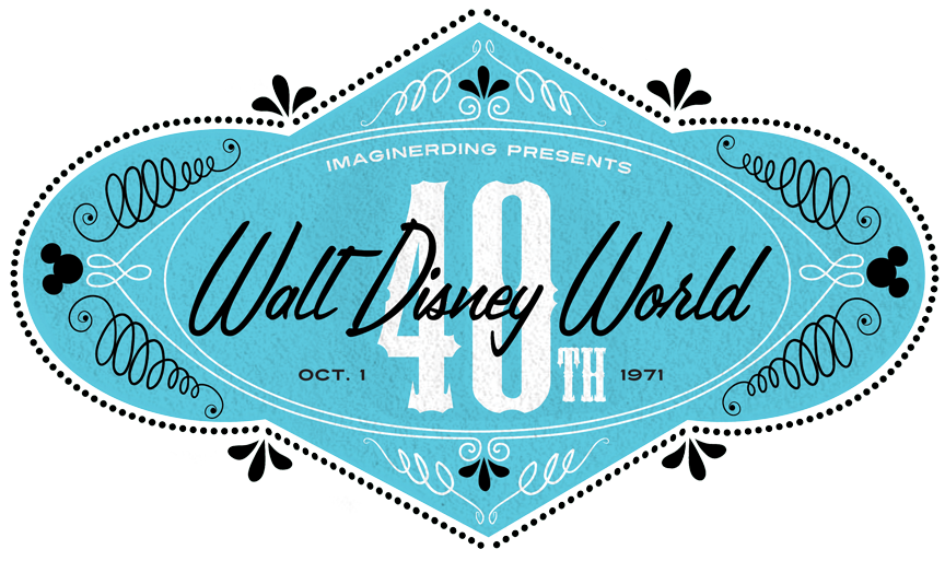1991 Walt Disney World Map - ImagiNERDing