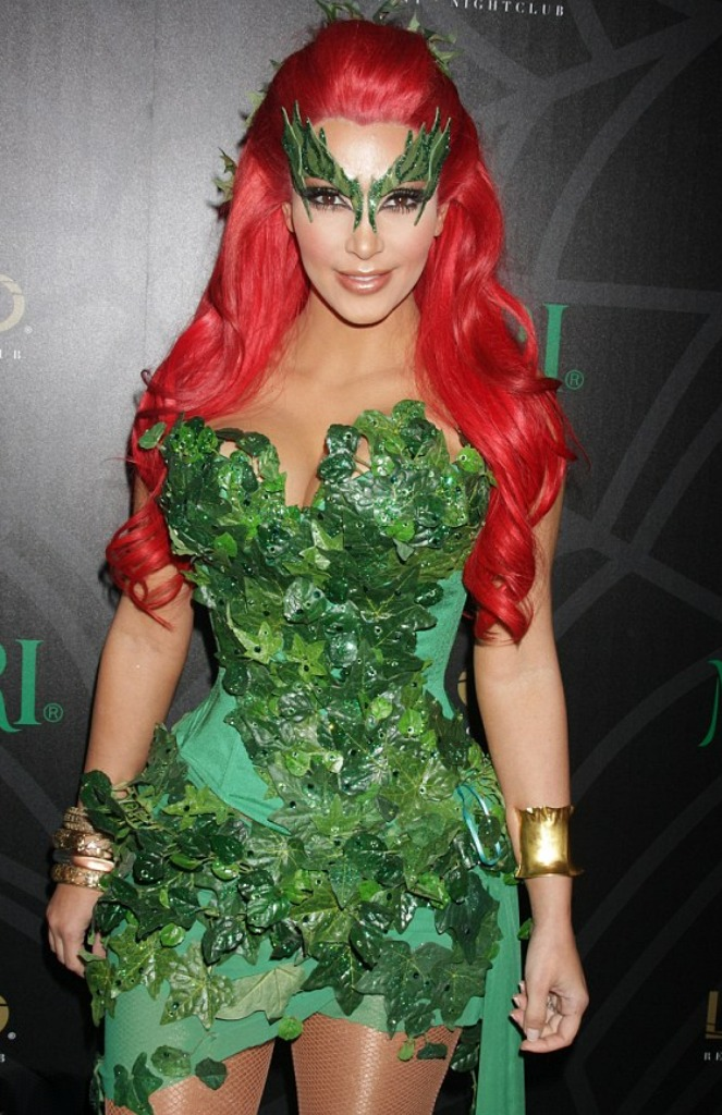 costume Sexy poison ivy