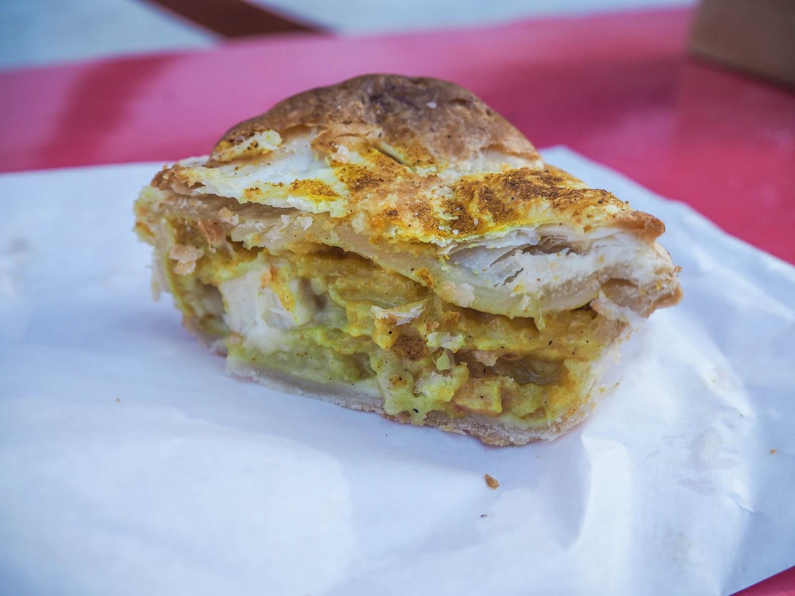 Tasmanian scallop pie