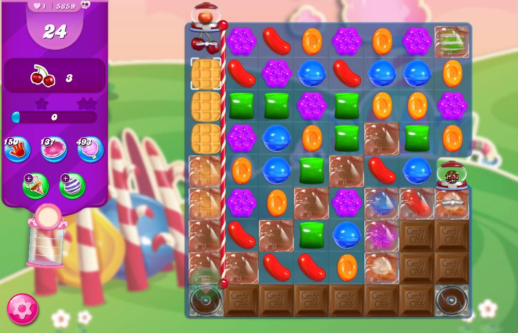Candy Crush Saga level 5859